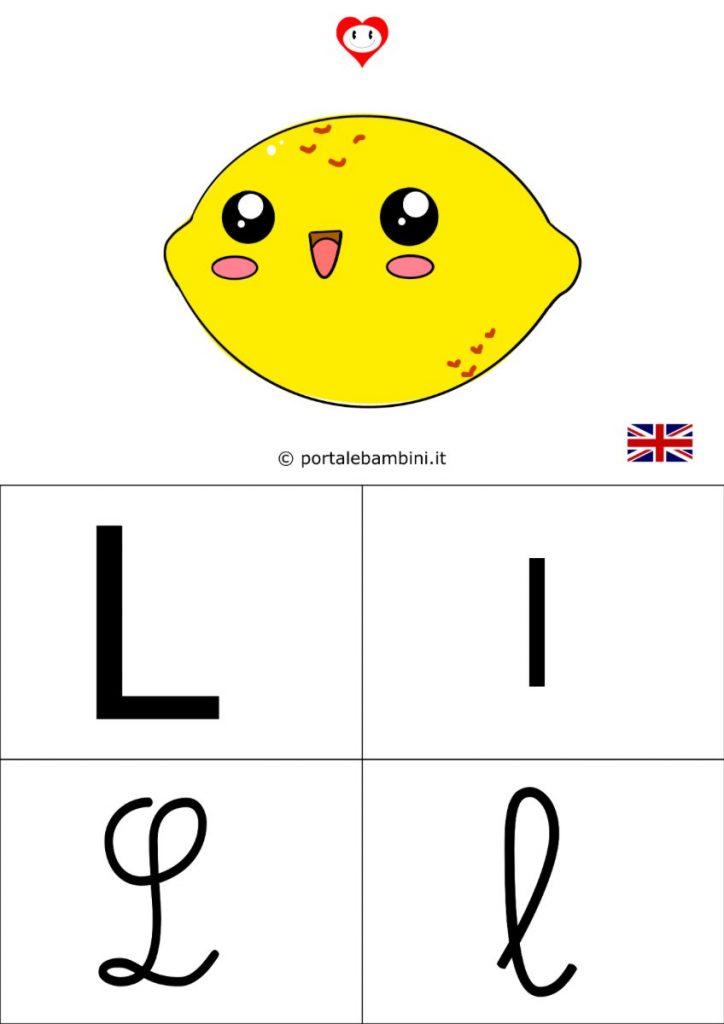 alfabetiere inglese da stampare l