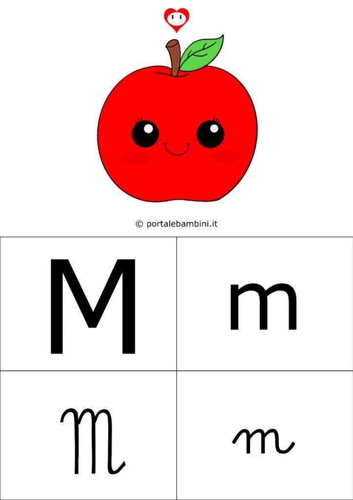 alfabetiere da stampare m