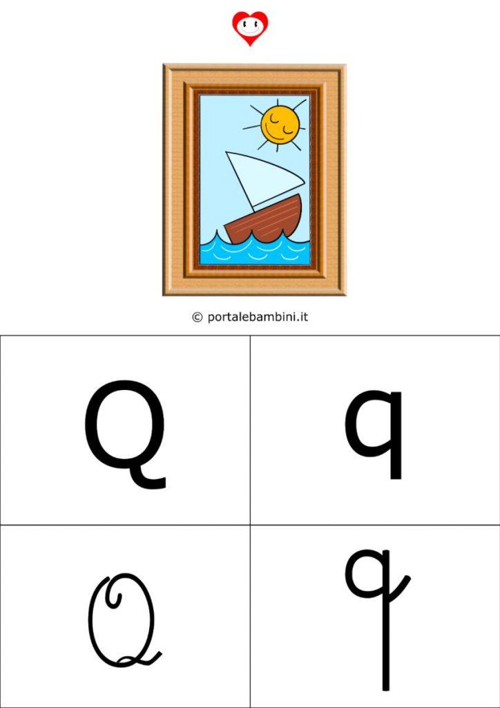 alfabetiere da stampare q