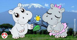 ippopotami da colorare