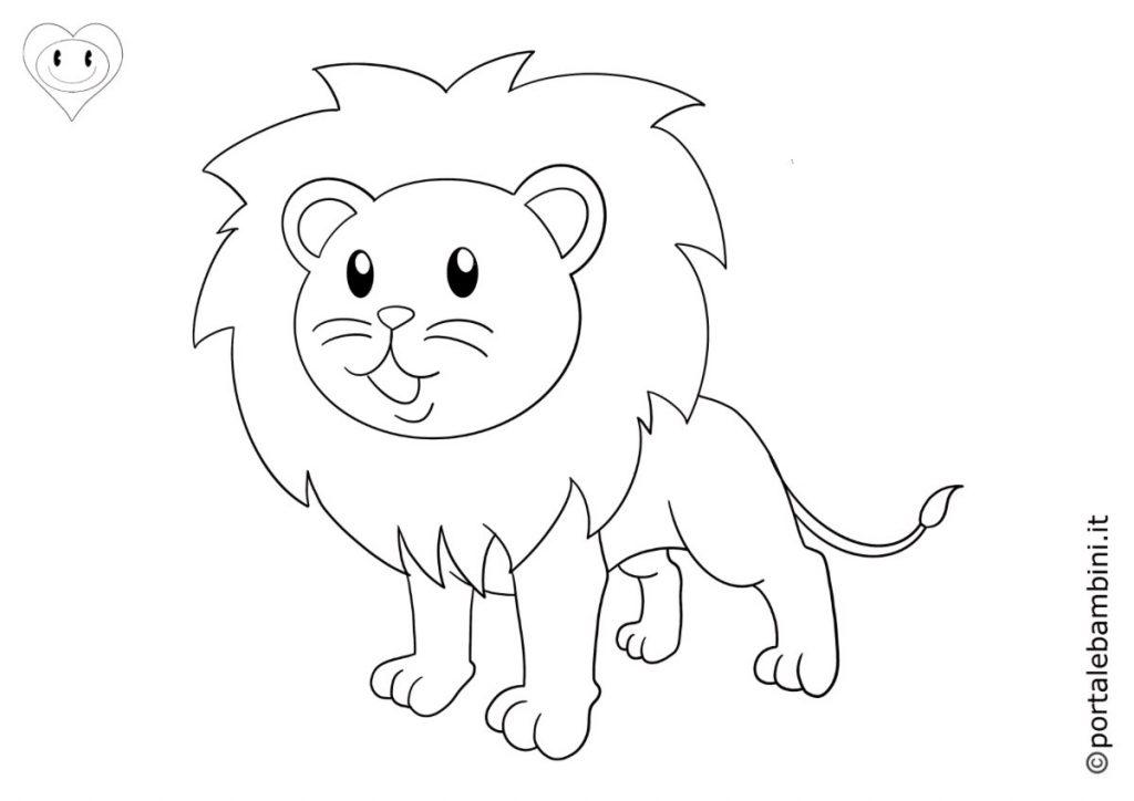leoni da colorare 2