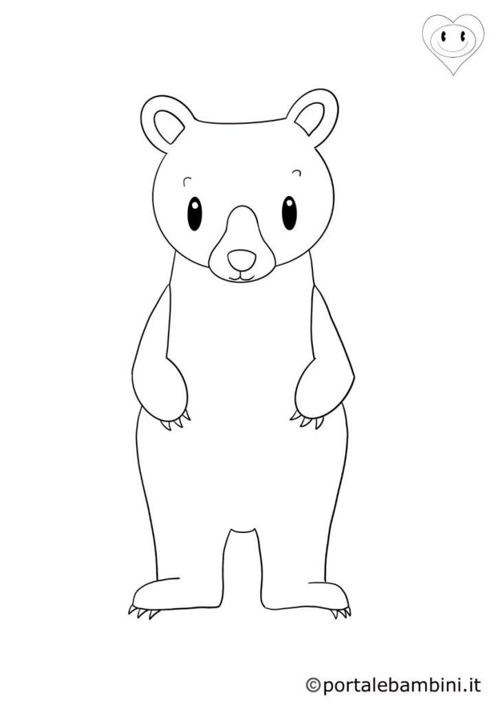 orsi da colorare 3