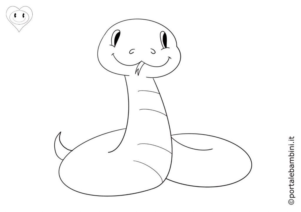 serpenti da colorare 2